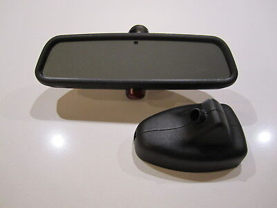 BMW E46 Rear View Interior Mirror Auto Dim /& With LED For The Alarm 1998 2005