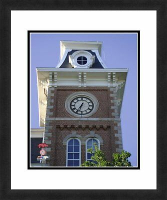 "NCAA Arkansas Razorbacks Clock Tower Beautifully Framed Double Matted, 18"" x 22"""