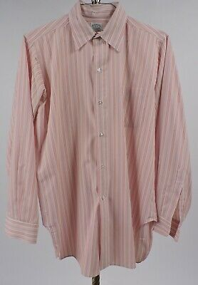 Vintage 1970'S Men's Striped Shirt By Brooks Brothers