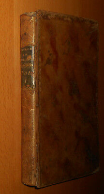 1797 rare antique travel book Europe, gothic novel author Ann Radcliffe, leather