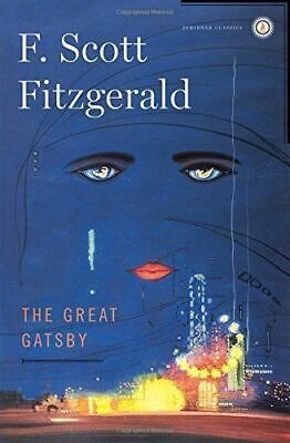 THE GREAT GATSBY (Scribner Classics) by F. Scott Fitzgerald BRAND NEW, Excellent