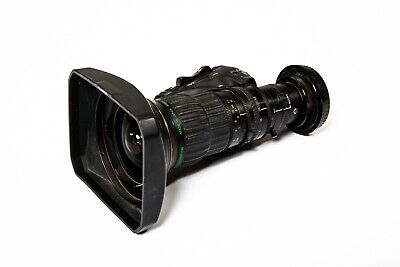 "Fujinon 1/2"" 13x HD Wide-Angle Lens for XDCAM HD Cams, Manual Focus, Servo Zoom"