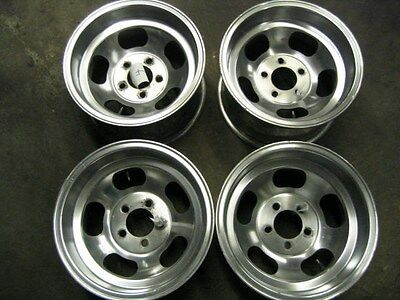 Aluminum Slotted Wheels, Western Racing Wheels