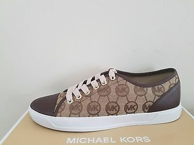 All Eur 40 Guess Beige Gold Sneaker Monogramm Over Top 44 FK1cJlu3T5