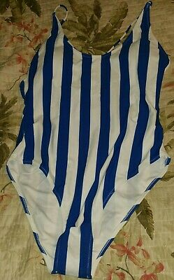 8460877904 CUPSHE STRIPED ONE Piece Bathing Suit Size X-Large - $19.95 | PicClick