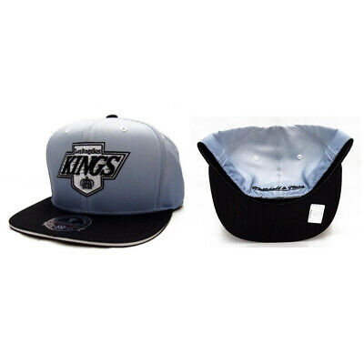 0c9da5520 Los Angeles Kings NHL Authentic Mitchell & Ness 2 Tone Fitted Cap Hat -  Hockey