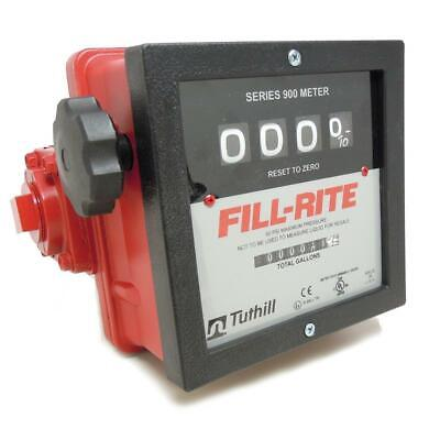 "Fill-rite 6 to 40 gpm Mechanical Flowmeter 901C 1"" FNPT DIESEL GAS"