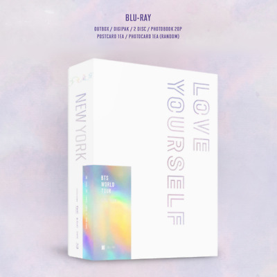 BTS WORLD TOUR [ LOVE YOURSELF - NEW YORK ] BLU-RAY PACKAGE + Tracking No.