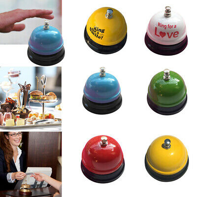 Hotel Counter Desk Bell Ring Food Reception Restaurant Kitchen Bar Service Call