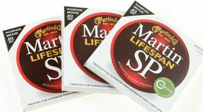 One Set Of Martin MSP7100 Lifespan SP Acoustic Guitar Strings 12-54 Max 10% Off
