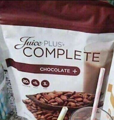 Juice Plus Complete Chocolate Shakes with shakes recipies, detox and meal plan