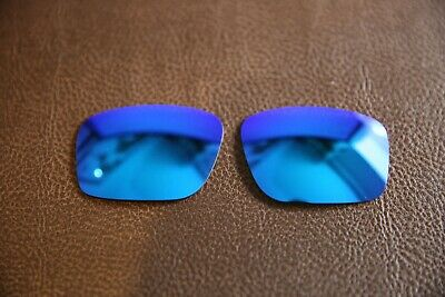 PolarLens POLARIZED Ice Blue Replacement Lens for-Oakley Mainlink sunglasses