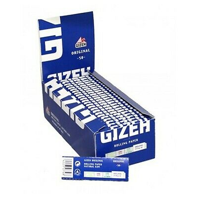 2500 Cartine Gizeh Original Corte 1 Box 50 Libretti Pz