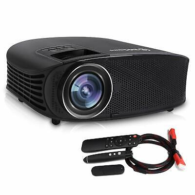 Video Projector,DHAWS 3800LM 1080P Full HD HDMI Office Projector for Laptop Busi