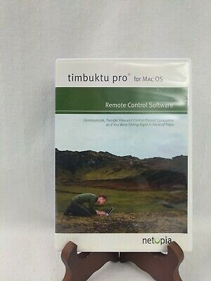 Timbuktu Pro for Mac OS Remote Control Software Netopia DVD W/ Activation