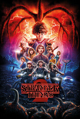 Stranger Things Season 2 One Sheet Poster 91.5 X 61Cm Maxi Poster New Official