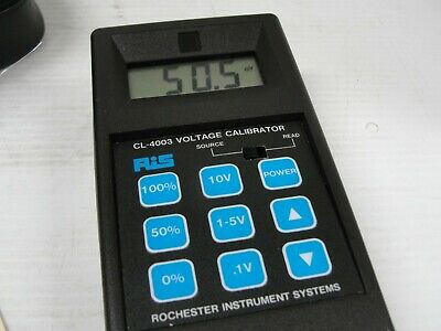 Rochester Instrument System RIS Voltage Calibrator CL-4003.