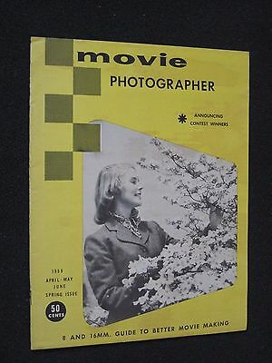 Movie Photographer Magazine - April-May-June 1959 - Guide To Better Movie Making