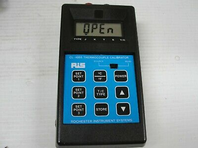 Rochester Instrument System RIS Thermocouple Calibrator CL-4005.