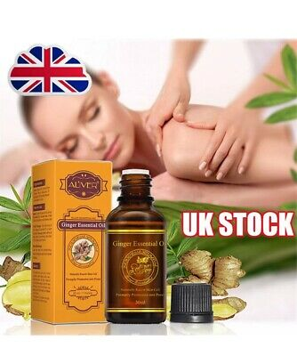 Lymphatic Drainage Ginger Oil HIGH QUALITY & NATURAL UK Seller