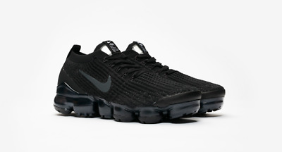 buy popular afa80 4fa6f NIKE W AIR Vapormax Flyknit 3.0 3 Triple Black AJ6910-002 Womens