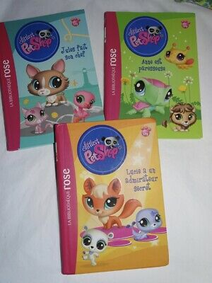 Lot De 5 Livres Bibliotheque Rose Lolirock Rebelle