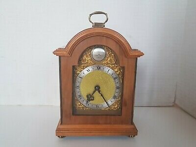 Mantel Clock By Thwaites And Reed With West German Movement Bell Dong.