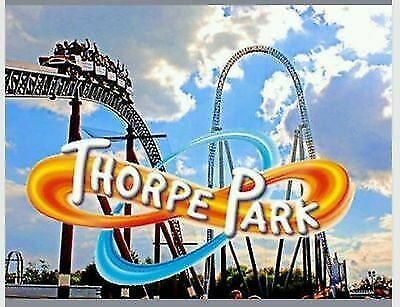 Sun Savers Code THURSDAY 23/05/2019 23rd May THORPE PARK Tickets FAST RESPONSE