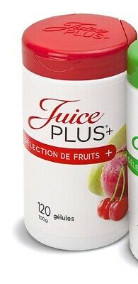 x 2 tube de fruits    juice plus neuf
