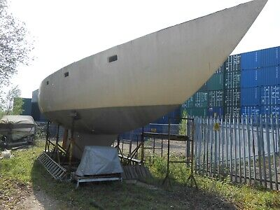 45ft. Cruising Yacht, MARINE PROJECT BOAT FOR COMPLETION (Live aboard) GRP