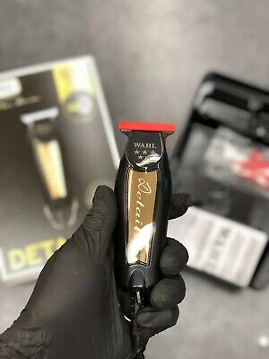 WAHL 5-Star Series Detailer T-Wide Blade Black & Gold Trimmer 8081-1100