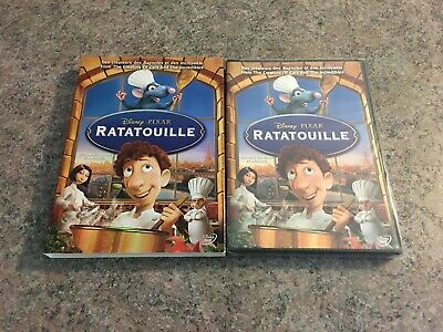one DVD DISNEY PIXAR RATATOUILLE sealed FRENCH and ENGLISH copy