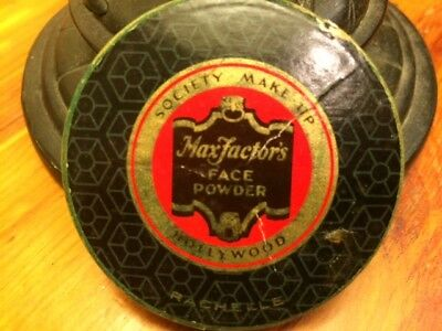 MAX FACTOR'S FACE POWDER SOCIETY MAKE-UP HOLLYWOOD - RACHELLE NO. 2 Vintage