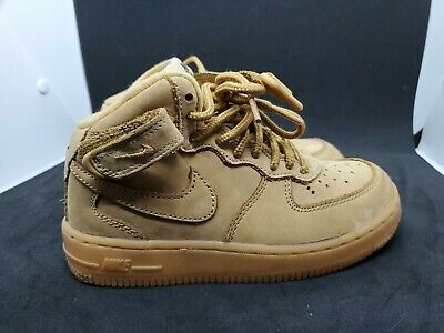 5b9c95f9c2 NIKE AIR FORCE 1 High flax wheat 922066 203 BOY Girls women GS PS ...