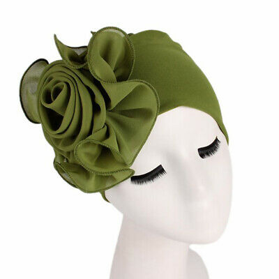 Ladies Cancer Chemo Caps Headwear Muslim Women Hijab Turban Hat Cap LJ