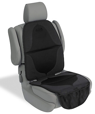 Summer ELITE DuoMat Car Seat Protector, Black - Premium Waterproof Seat Cover