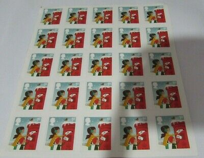 25 x 1st Class Stamps - Christmas Edition - BRAND NEW, UNUSED