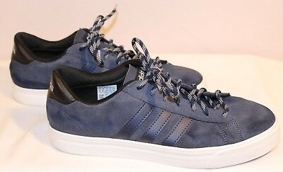 ADIDAS NEO COMFORT Footbed Navy Ladies Trainers UK Size 6