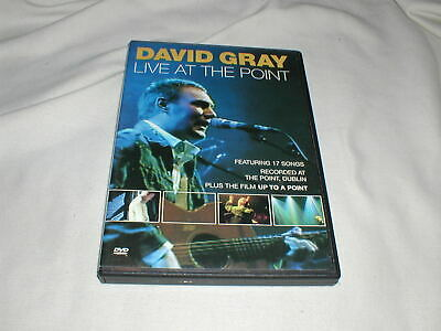 DAVID GRAY Live at the Point (2000) DVD Babylon Please Forgive Me Concert