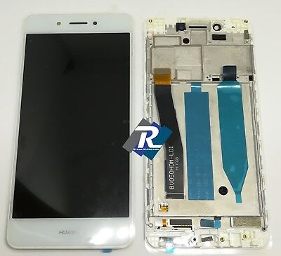 TOUCH SCREEN LCD DISPLAY Huawei Nova smart  DIG-L01 Bianco + Frame