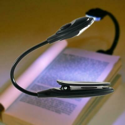 Clip On Book Reading Flex Light Bright Led Lamp Booklight Kindle Wifi
