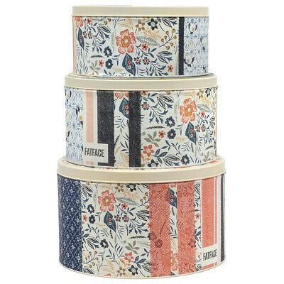 FatFace Set of 3 Round Cake Tins - LAF3146