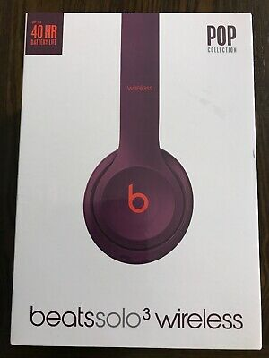 910809a0aca Beats by Dr. Dre Solo3 Wireless Headphones POP Collection POP-magenta New