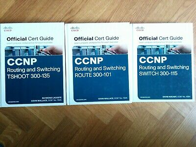 CCNP R&S v2 Official Certification Guides ROUTE SWITCH TSHOOT - 3 books for 2 !!