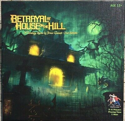 Brand New - Betrayal at House on the Hill 2nd Edition