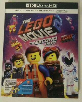 NEW - The LEGO Movie 2: The Second Part (4K Ultra HD/Blu-ray/Digital+Slipcover)