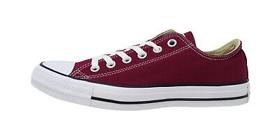 Converse Chuck Taylor All Star Ox M9691 Shoes Trainers Maroon Dark Red US 10.5
