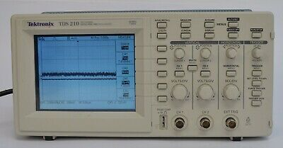 Tektronix TDS 210 Two-Channel Digital Real-Time Oscilloscope 60MHz 1GS/s