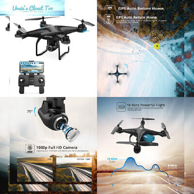 Holy Stone HS120D FPV Drone with Camera for Adults 1080p HD Live Video and...