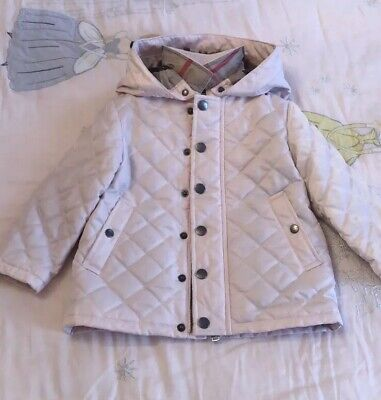 5860a9833 ZARA BABY GIRLS' Quilted Jacket with Hood Hot Pink 3-6 months BNWT ...